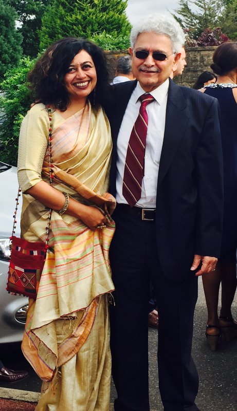 Ketna Patel with her dad